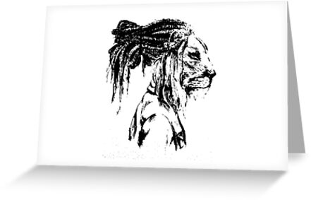 The lion man greeting cards by alliehnatarino redbubble the lion man by alliehnatarino m4hsunfo