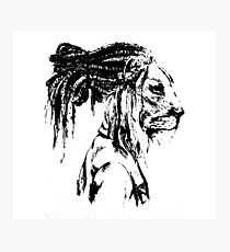 The Lion Man Photographic Print