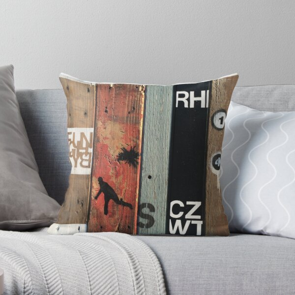 FunchkyB Throw Pillow