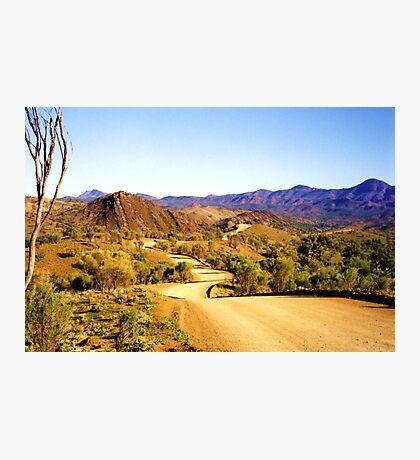 Winding through the Flinders Ranges Photographic Print