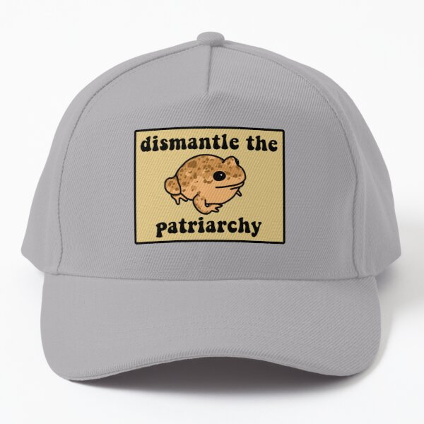 Dismantle The Patriarchy Frog Baseball Cap