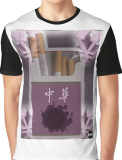 Gastly Cigs Graphic T-Shirt