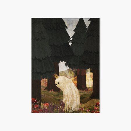 The Mushroom King Art Board Print