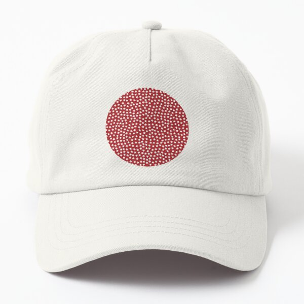 Full of Stars red Dad Hat