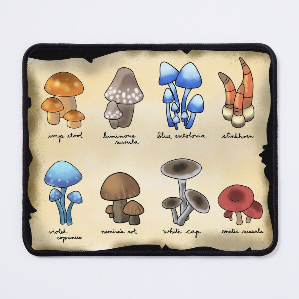 Mushrooms of Alchemy Mouse Pad