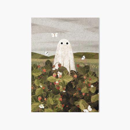 Erdbeerfelder Galeriedruck