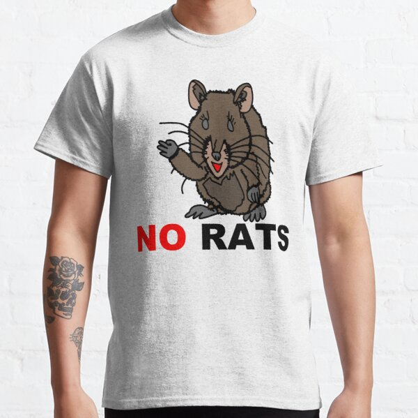 No Rats Allowed (Toon Land) Classic T-Shirt