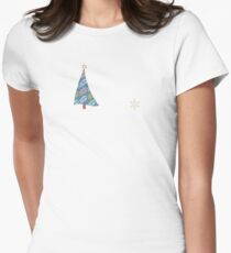 Happy Holidays! Fitted T-Shirt