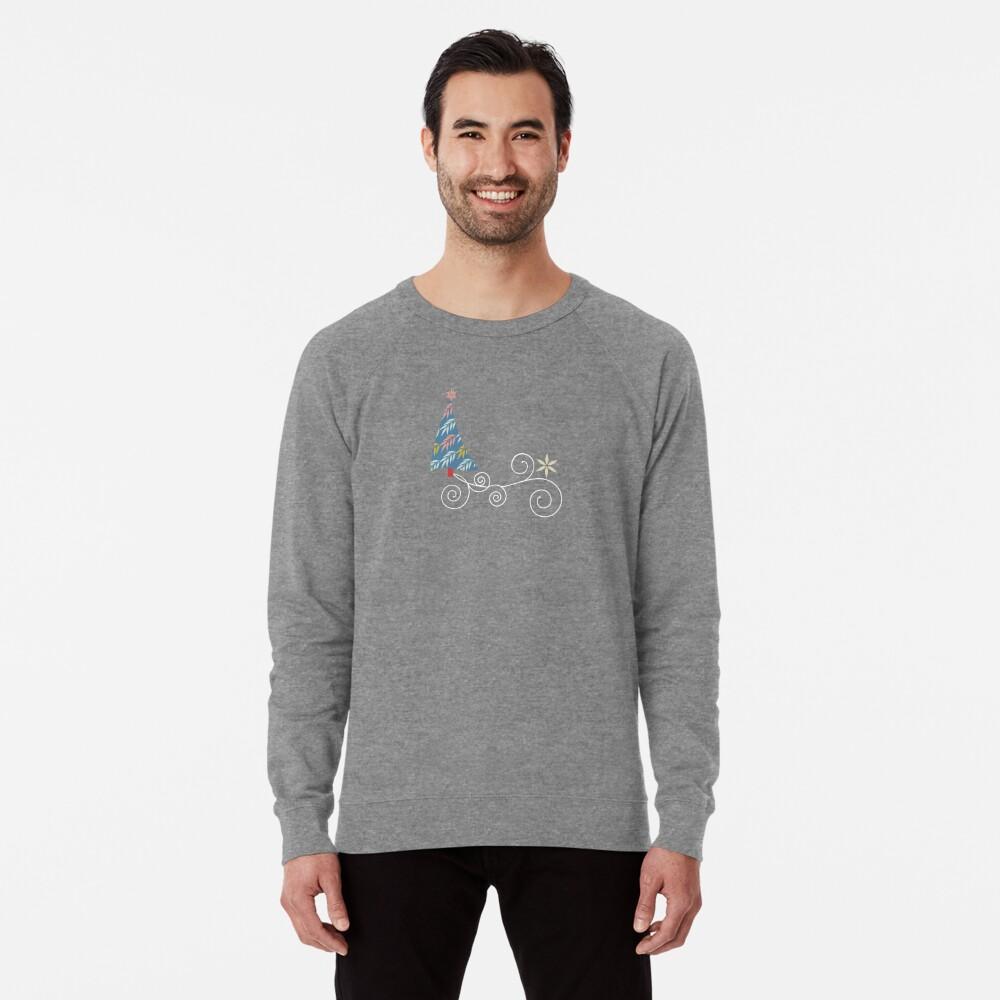 Happy Holidays! Lightweight Sweatshirt