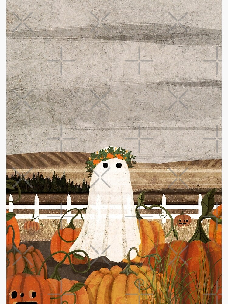 There's a Ghost in the Pumpkins Patch Again... by katherineblower