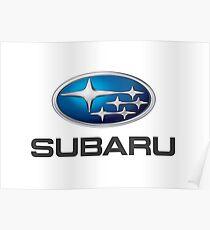 Subaru Logo Poster