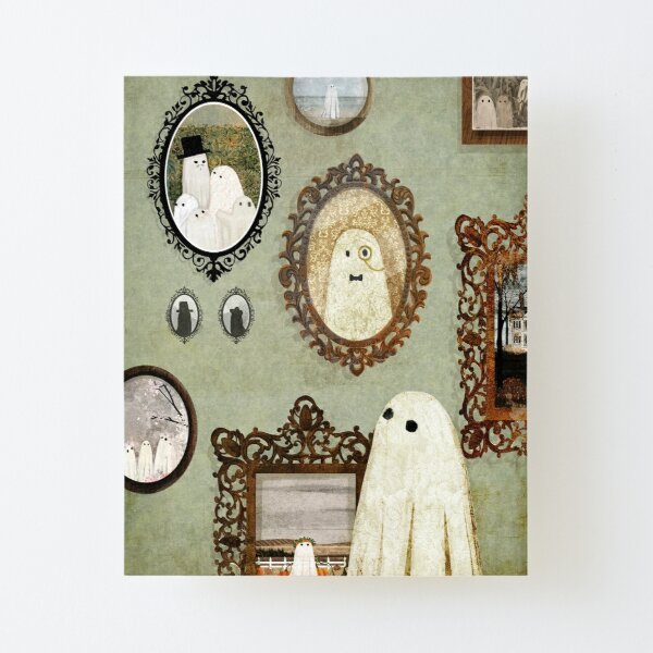 There's A Ghost in the Portrait Gallery Canvas Mounted Print