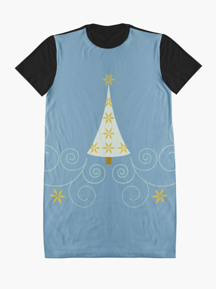 Alternate view of Holiday Greetings! Graphic T-Shirt Dress