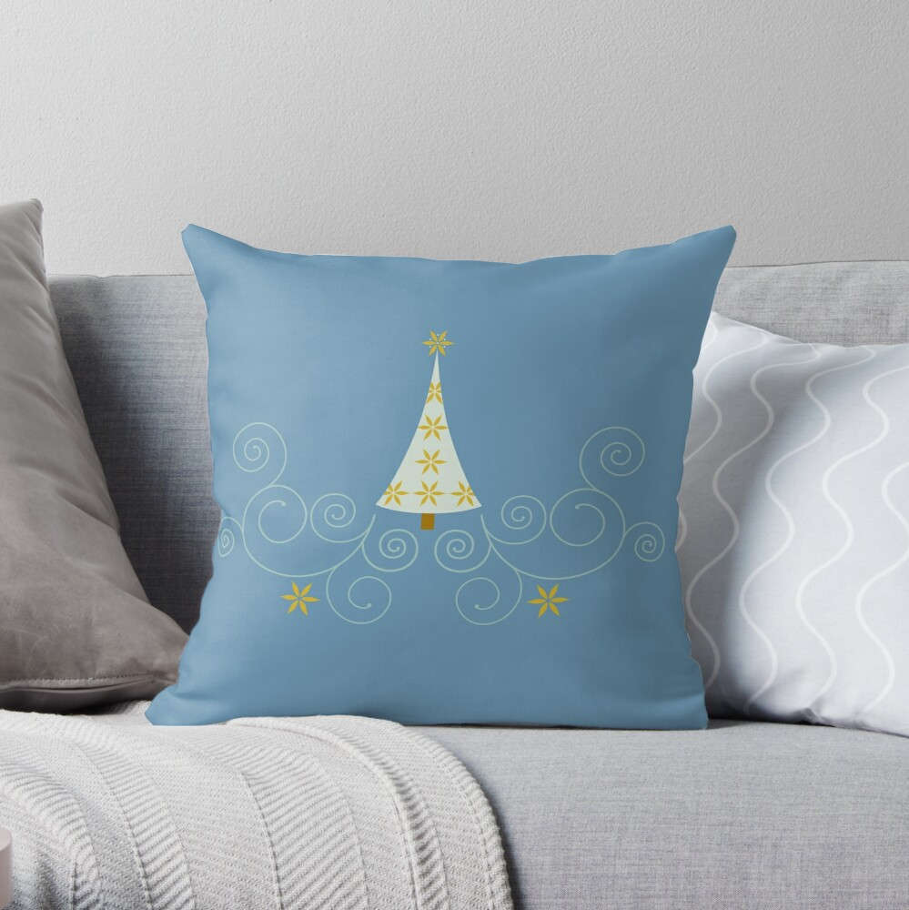Holiday Greetings! Throw Pillow