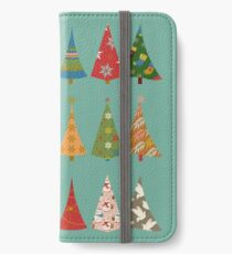 Christmas Trees iPhone Wallet/Case/Skin