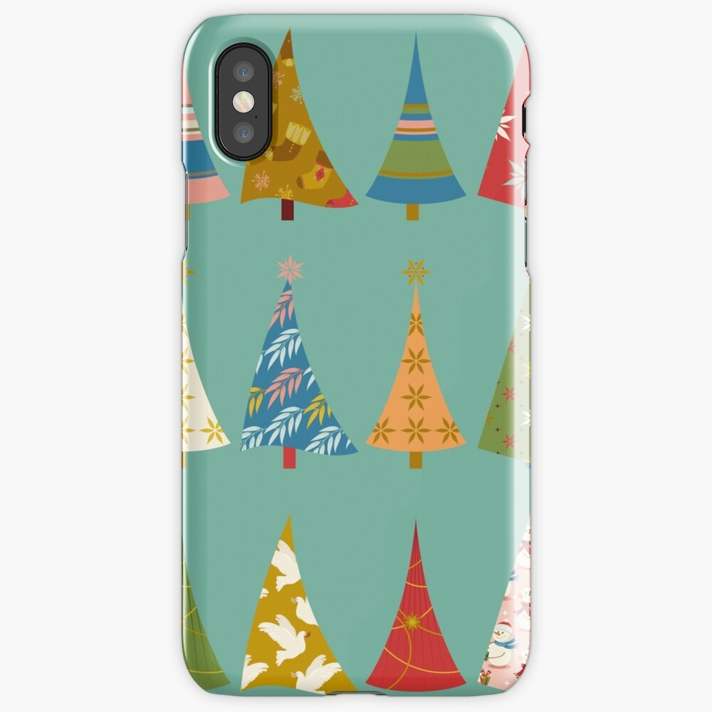Christmas Trees iPhone Case & Cover