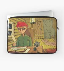 Boy writing a letter to the Turkish Sultan Laptop Sleeve