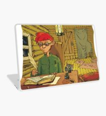 Boy writing a letter to the Turkish Sultan Laptop Skin
