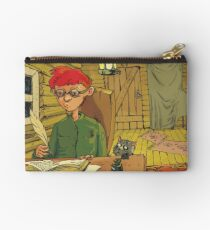 Boy writing a letter to the Turkish Sultan Studio Pouch
