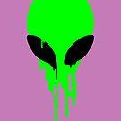 melting alien  by myacideyes