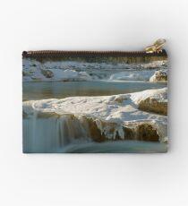 The Elbow Falls, Alberta, Canada. Studio Pouch