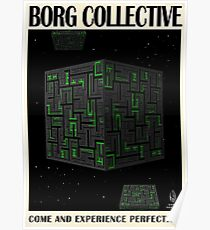 Star Trek - Travel Poster (Borg Collective) Poster