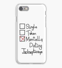 Mentally Dating Jacksepticeye iPhone Case/Skin