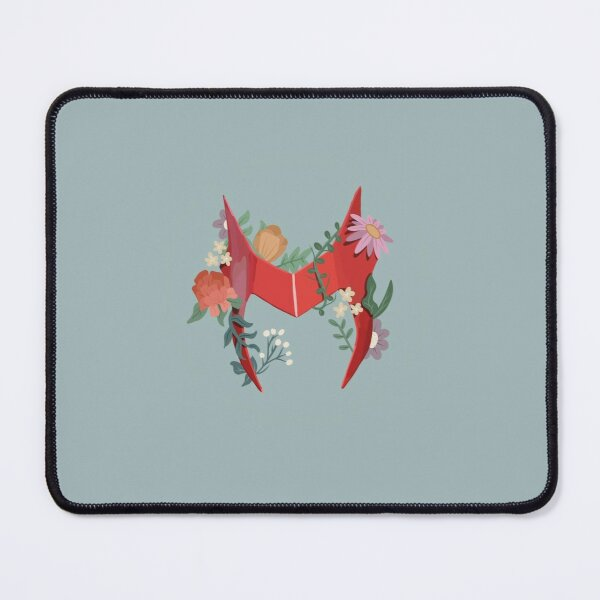 Scarlett Witch headpiece with flowers Mouse Pad