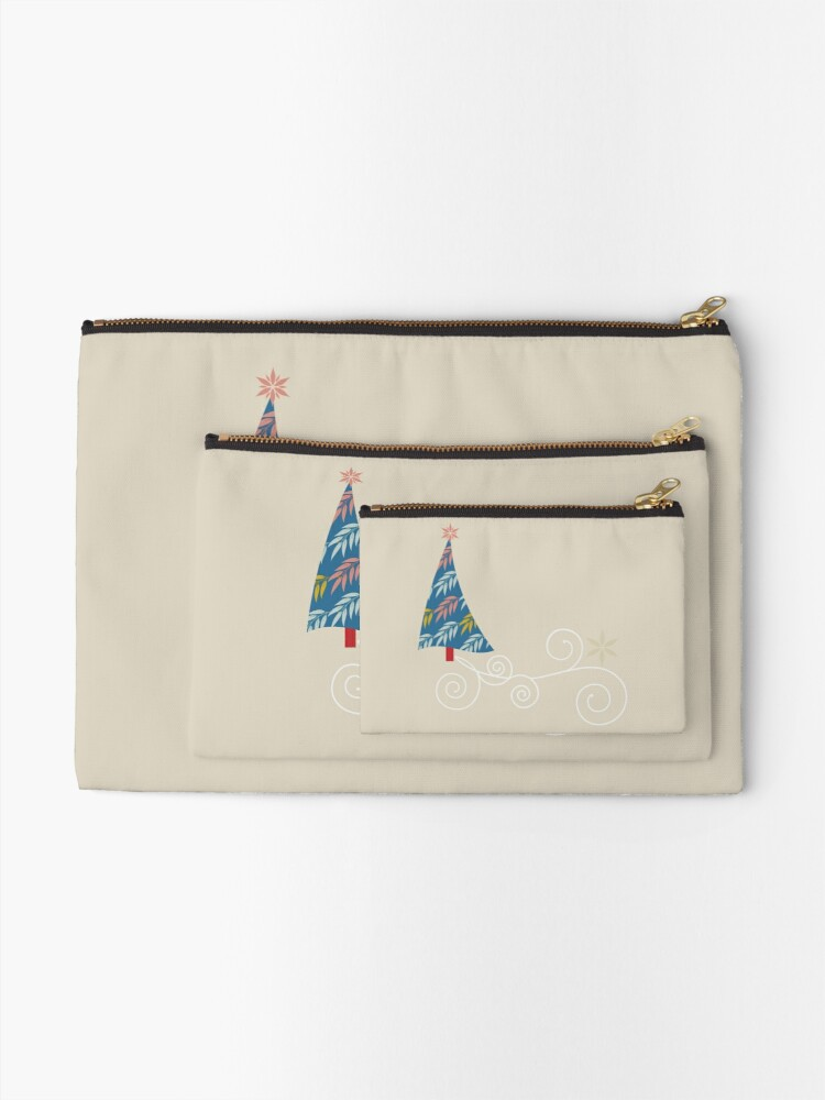 Alternate view of Happy Holidays! Zipper Pouch
