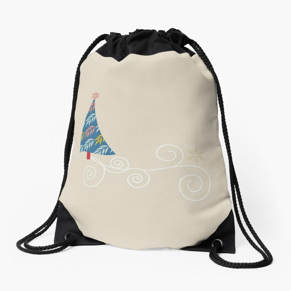 Happy Holidays! Drawstring Bag