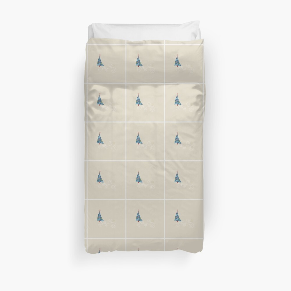 Happy Holidays! Duvet Cover