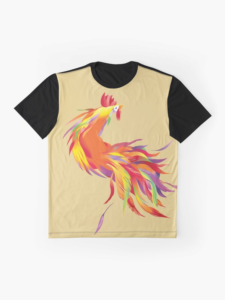 Alternate view of Red Cock Graphic T-Shirt