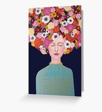 celeste Greeting Card
