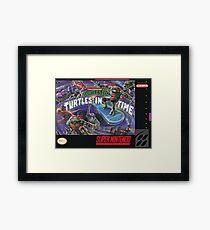 Turtles In Time! Framed Print