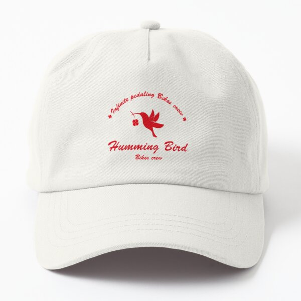 Humming Bird Crew logo windbreaker  Dad Hat