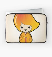 Manngo Kokeshi Doll Laptop Sleeve