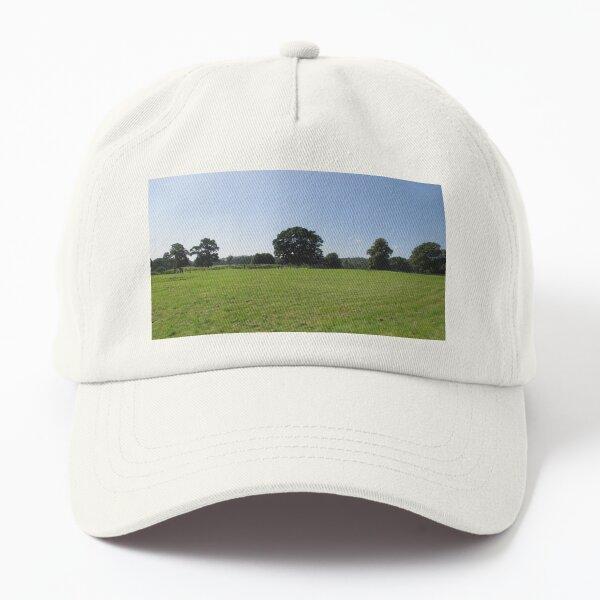 M.I. #117 |☼| Distant Love Heart Pareidolia Trees (Hadrian's Wall) Dad Hat