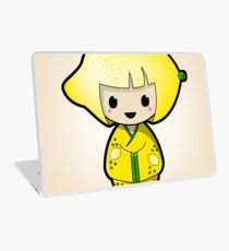 Lemon Kokeshi Doll Laptop Skin