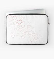 Valentines Hearts Laptop Sleeve