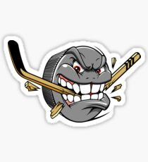 Funny Cool Novelty Ice Hockey Sports Sticker