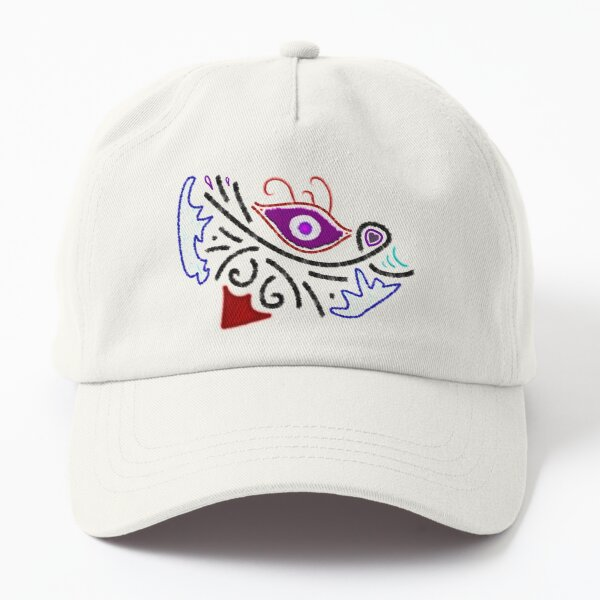 M.I. #1  ☼  Rustic Tribal Cyclops Insignia Dad Hat