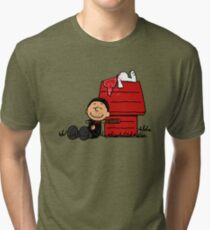 Negan Brown Tri-blend T-Shirt