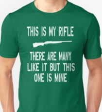 Full Metal Jacket Quote - This Is My Rifle Unisex T-Shirt