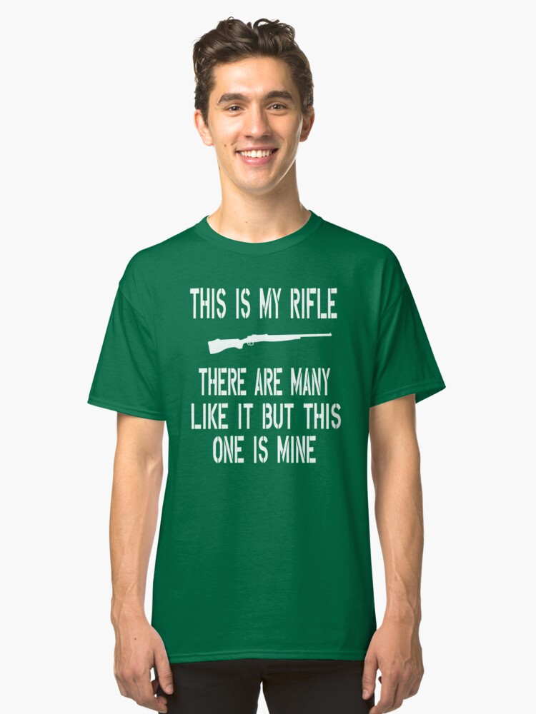 Full Metal Jacket Quote This Is My Rifle Classic T Shirt By Movie