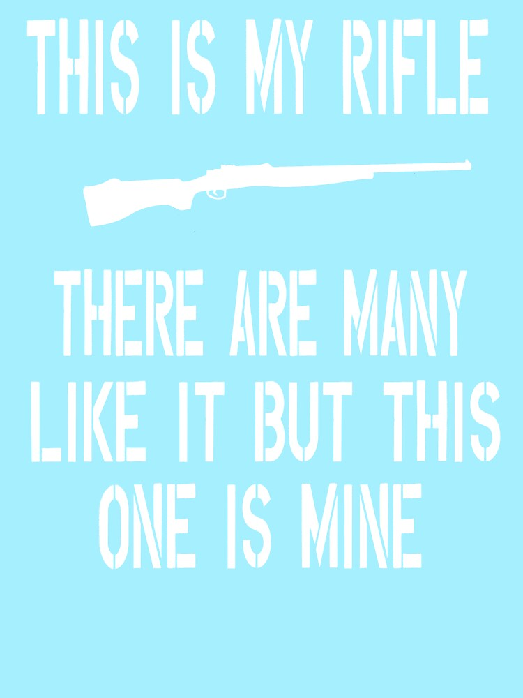 Full Metal Jacket Quote This Is My Rifle Womens Fitted Scoop T