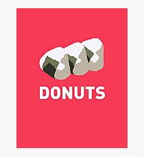 Jelly Donut Photographic Print