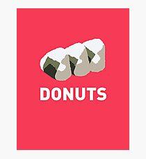 Jelly Donut Photographic Print