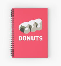 Jelly Donut Spiral Notebook