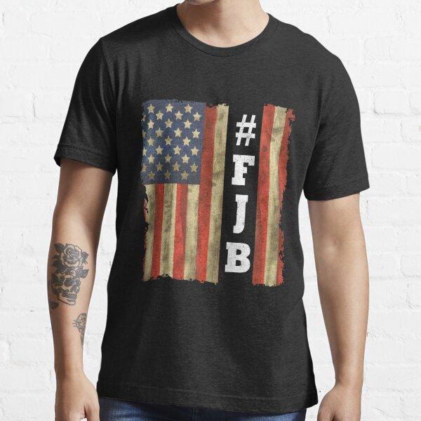 amrican flag, vintage flag,fjb flag, retro flag, usa, us, american, American Flag Upside Down Essential T-Shirt