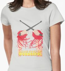 Some Kind of Wonderful Watts Womens Fitted T-Shirt